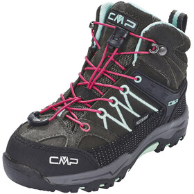 CMP Campagnolo Rigel Mid WP Trekking Shoes Kids Arabica-Sky Light